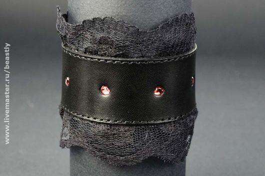 Номер 10221. Изделия из кожи, кожаные изделия, украшения, браслет.