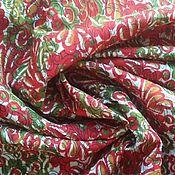 Материалы для творчества ручной работы. Ярмарка Мастеров - ручная работа Ткань отрез, хлопок, винтаж. Handmade.