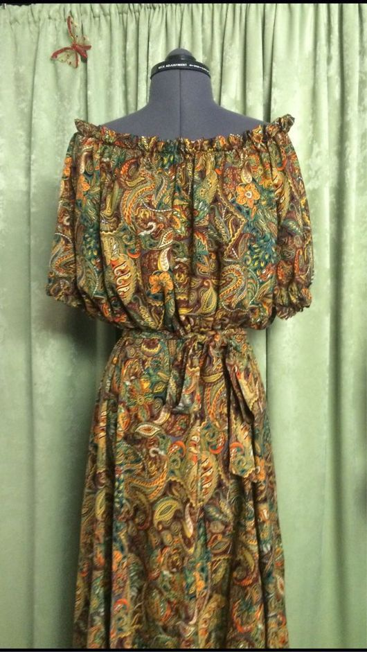 """Платья ручной работы. Ярмарка Мастеров - ручная работа. Купить Платье летнее """"Кармен"""". Handmade. Платье, платье на заказ"""
