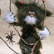 Мягкие игрушки ручной работы. Ярмарка Мастеров - ручная работа Вязаный Ёшкин кот. Handmade.