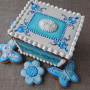 Сувениры и подарки handmade. Livemaster - original item Gingerbread box is A Russian souvenir.Gingerbread ginger.. Handmade.