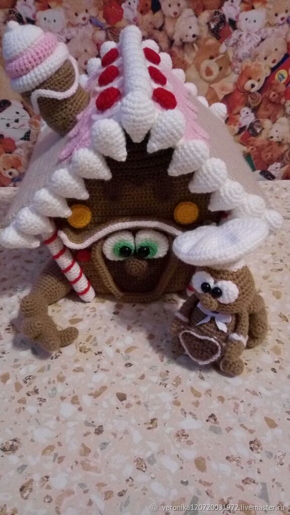 Пряничный домик шкатулка, Кукольные домики, Санкт-Петербург,  Фото №1