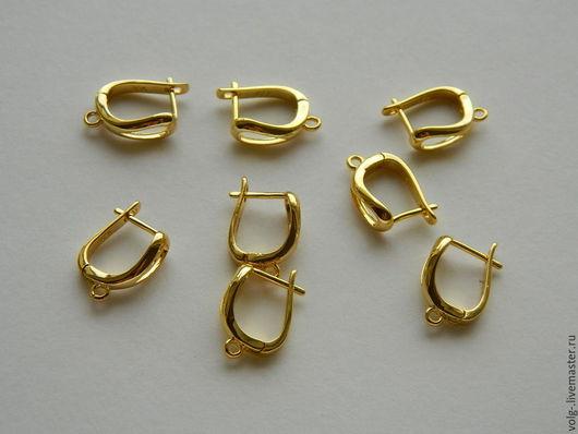 Для украшений ручной работы. Ярмарка Мастеров - ручная работа. Купить Швензы позолоченные, желтое золото. Handmade. Золотой