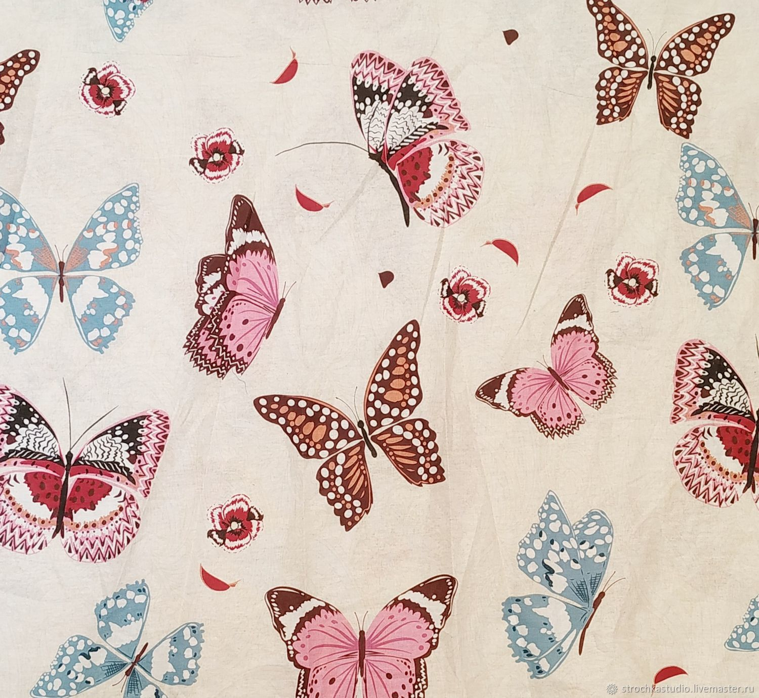 Calico. Sheet width of 220 cm. 100% cotton, Fabric, Moscow,  Фото №1