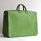 Сумки и аксессуары handmade. Livemaster - original item Leather handbag, bag-case art S3 Titan. Handmade.