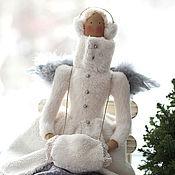 Куклы и игрушки ручной работы. Ярмарка Мастеров - ручная работа Зимняя Тильда из книги Vintergleder 2013. Handmade.