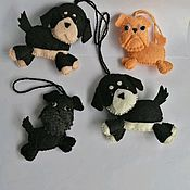 Куклы и игрушки handmade. Livemaster - original item Toys made of felt