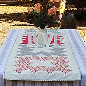Для дома и интерьера ручной работы. Ярмарка Мастеров - ручная работа Дорожка на стол в стиле ретро. Handmade.