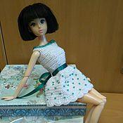 Куклы и игрушки ручной работы. Ярмарка Мастеров - ручная работа Одежда для Барби, платье для Барби 4. Handmade.