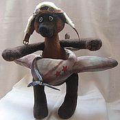 """Куклы и игрушки ручной работы. Ярмарка Мастеров - ручная работа Мишка-тедди """"Я лечу...."""". Handmade."""