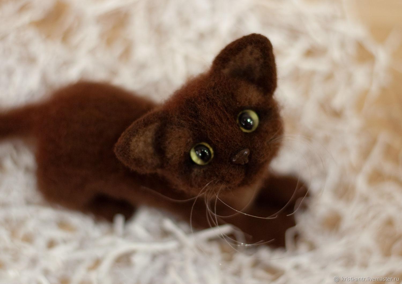 придумали валяный котик фото торжестве