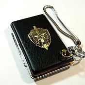 Сувениры и подарки handmade. Livemaster - original item CIGARETTE CASE FOR 12 ORDINARY AND 18 THIN CIGARETTES