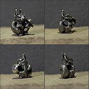 Материалы для творчества handmade. Livemaster - original item Squirrel charm. Handmade.