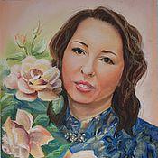 Картины и панно ручной работы. Ярмарка Мастеров - ручная работа Портрет пастелью по фото. Handmade.