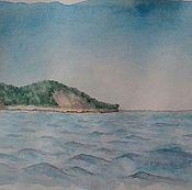 Картины и панно ручной работы. Ярмарка Мастеров - ручная работа Утриш. Морской пейзаж. Handmade.