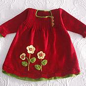 Работы для детей, ручной работы. Ярмарка Мастеров - ручная работа платье детское Весна красна. Handmade.