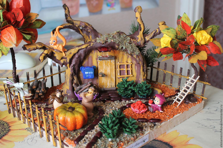 Осенние поделки и композиция фото