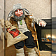 Сказочные персонажи ручной работы. Заказать домовой. светлана митрофанова (sveta-1). Ярмарка Мастеров. Оберег для дома, глаза пластиковые