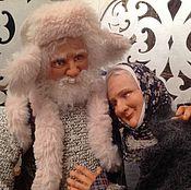 Куклы и игрушки ручной работы. Ярмарка Мастеров - ручная работа Жили были... (куклы дедушка и бабушка). Handmade.