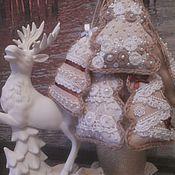 Подарки к праздникам ручной работы. Ярмарка Мастеров - ручная работа игрушки Елочки Новогодние. Handmade.