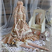 Куклы и игрушки ручной работы. Ярмарка Мастеров - ручная работа Ванильно-кремовая фея Джульетта. Handmade.