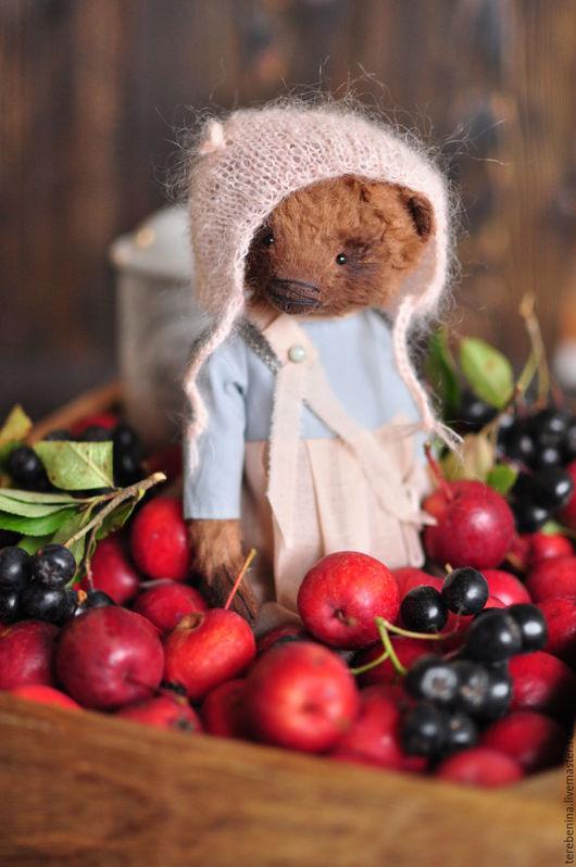 Мишки Тедди ручной работы. Ярмарка Мастеров - ручная работа. Купить Мишка Мару........ Handmade. Коричневый, мишка в одежке, teddy
