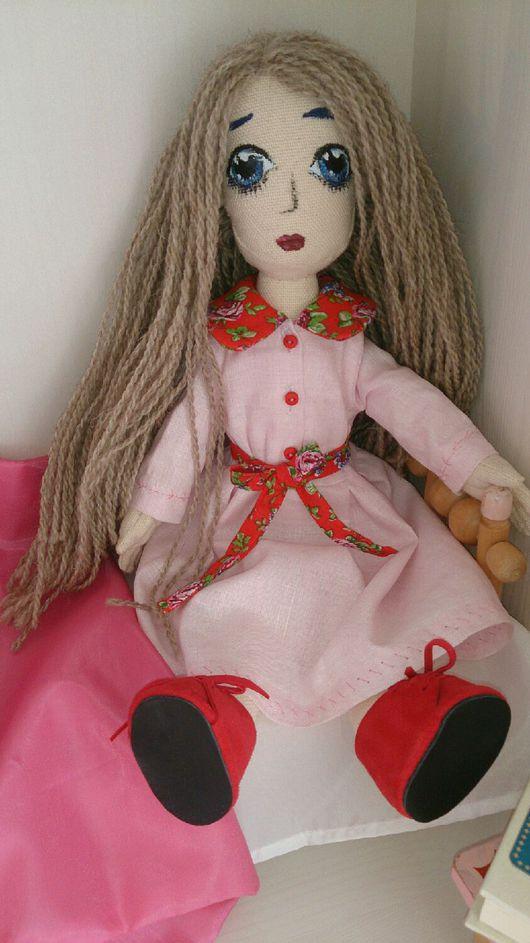 Коллекционные куклы ручной работы. Ярмарка Мастеров - ручная работа. Купить Кукла текстильная. Кукла интерьерная игровая авторская.. Handmade.