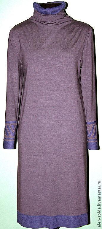Платья ручной работы. Ярмарка Мастеров - ручная работа. Купить платье. Handmade. Платье, платье туника, трикотажное платье