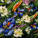 Order Painting with irises oil. Irises in the field. Zabaikalie. Livemaster. . Pictures Фото №3