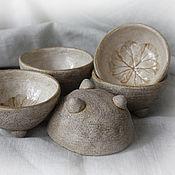 Посуда ручной работы. Ярмарка Мастеров - ручная работа Набор мини-креманок. Handmade.