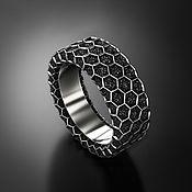 Украшения handmade. Livemaster - original item Ring: Honeycomb ring. Handmade.