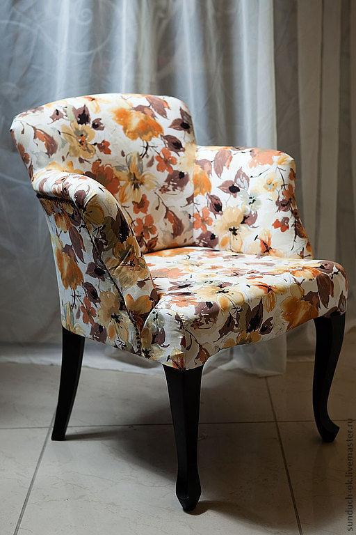 Мебель ручной работы. Ярмарка Мастеров - ручная работа. Купить Кресло. Handmade. Бежевый, кресло, кресло в столовую, кресло в гостиную