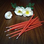 Фен-шуй и эзотерика handmade. Livemaster - original item Candles red poppy 10 PCs. Handmade.