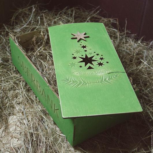 Персональные подарки ручной работы. Ярмарка Мастеров - ручная работа. Купить Коробка деревянная с выдвижной крышкой. Handmade. Комбинированный
