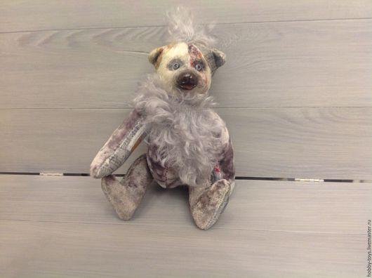 Мишки Тедди ручной работы. Ярмарка Мастеров - ручная работа. Купить Мишутка ,,Марси,,. Handmade. Серый, мишки тедди, подарки