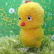 Куклы и игрушки ручной работы. Ярмарка Мастеров - ручная работа Весенний Цыпленок. Handmade.
