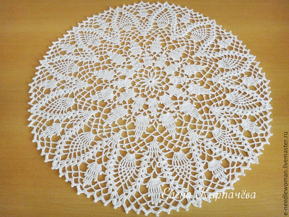 Doily Pineapples, Doilies, Omsk,  Фото №1