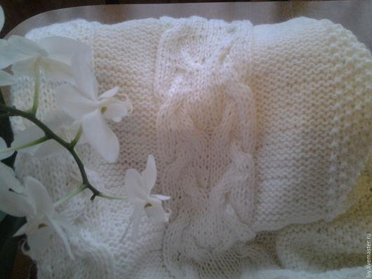 Пледы и одеяла ручной работы. Ярмарка Мастеров - ручная работа. Купить пледик детский. Handmade. Белый, детская комната