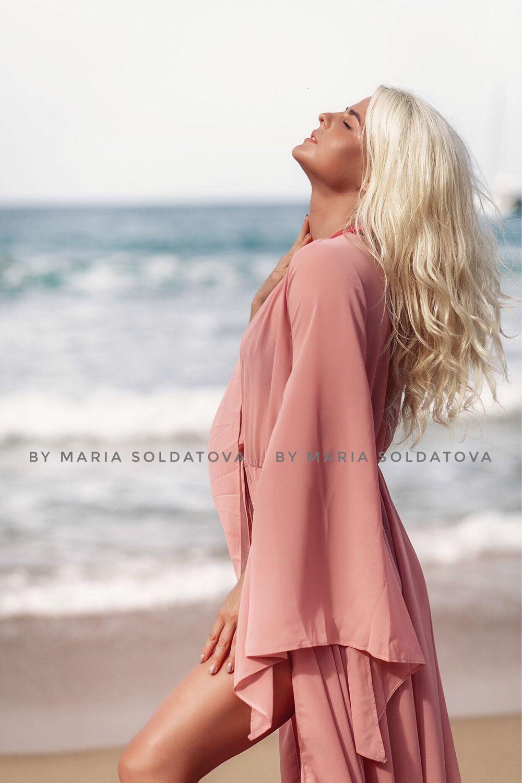 3c9d9134b0ee9aa Пляжные платья ручной работы. Ярмарка Мастеров - ручная работа. Купить  Длинная пляжная туника,