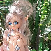 Мягкие игрушки ручной работы. Ярмарка Мастеров - ручная работа ....Дриада голубая..... Handmade.
