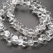 Материалы для творчества handmade. Livemaster - original item Rhinestone (imitation) beads dumbbells 10/5mm. Handmade.