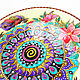 Mandala 'I believe I can fly' decorative plate. Plates. Art by Tanya Shest. Online shopping on My Livemaster.  Фото №2