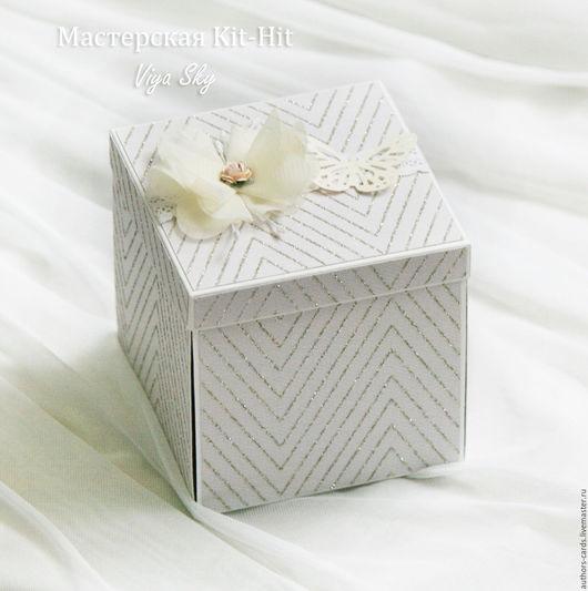 """Подарки для влюбленных ручной работы. Ярмарка Мастеров - ручная работа. Купить Подарочная коробочка для денег """"Мерцание нежности"""" (Свадебный подарок). Handmade."""
