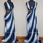 "Одежда handmade. Livemaster - original item Dress for bellydance ""Mistic night"". Handmade."