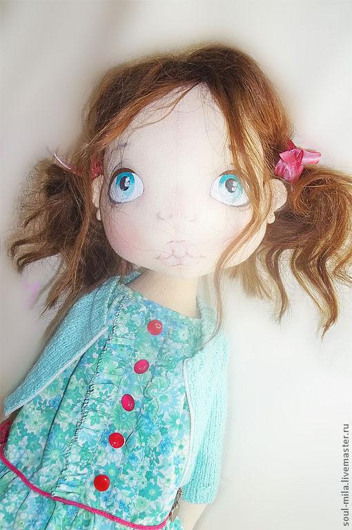 Коллекционные куклы ручной работы. Ярмарка Мастеров - ручная работа. Купить Кристи. Handmade. Куклы и игрушки, интерьерная кукла