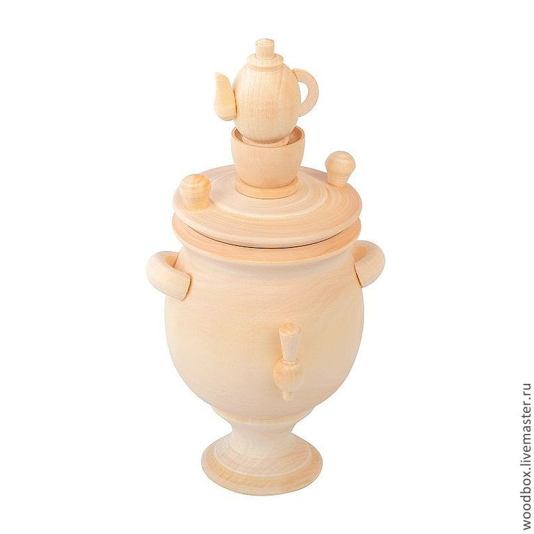 Samovar, Blanks for decoupage and painting, Moscow,  Фото №1