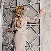 Одежда ручной работы. Ярмарка Мастеров - ручная работа Платье длинное Элизе. Handmade.