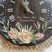 """Для дома и интерьера ручной работы. Ярмарка Мастеров - ручная работа Часы """"Зиний узор"""". Handmade."""