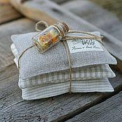 Сувениры и подарки ручной работы. Ярмарка Мастеров - ручная работа Набор саше с лавандой и календулой. Handmade.