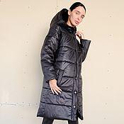 Одежда handmade. Livemaster - original item Women`s insulated coat Night Glimmer. Handmade.